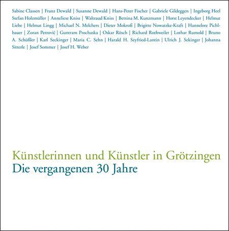 Künstlerinnen und Künstler in Grötzingen
