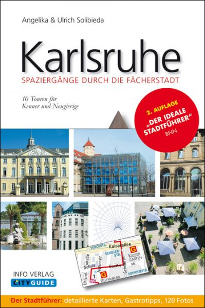 Karlsruhe – Spaziergänge durch die Fächerstadt